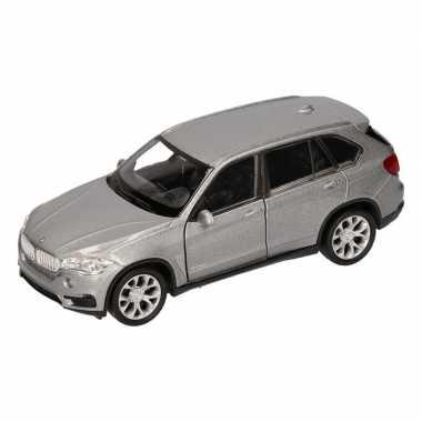 Speelgoed grijze bmw x5 auto 1 36