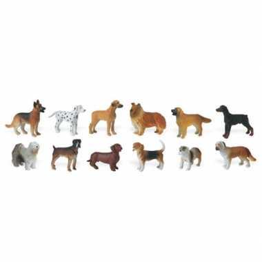Speelgoed honden 14 stuks