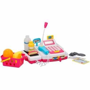 Speelgoed kassa met accessoires voor kinderen