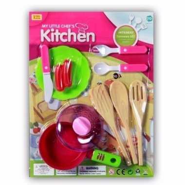 Speelgoed keuken gerei 10 delig