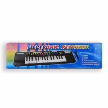 Speelgoed keyboard en microfoon