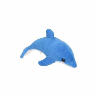 Speelgoed knuffel dolfijn 15 cm