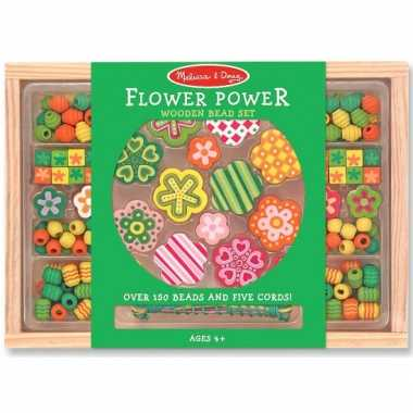 Speelgoed kralenset flower power