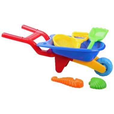 Speelgoed kruiwagentje 6-delig