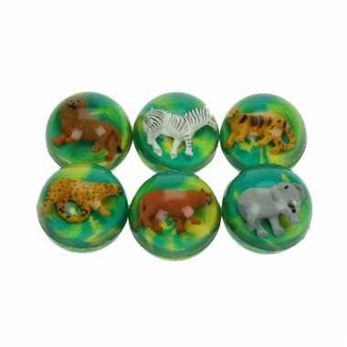 Speelgoed leeuwin stuiterbal