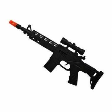 Speelgoed machinegeweer met geluid
