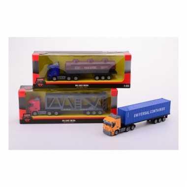 Speelgoed olie vrachtwagen voor kinderen