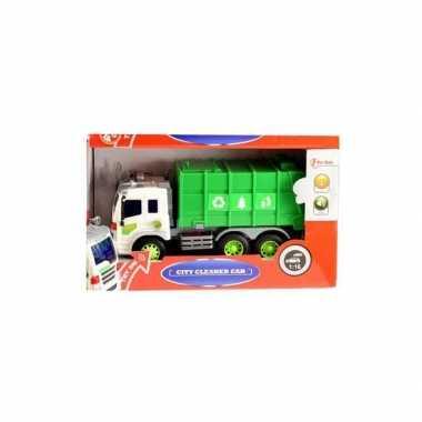 Speelgoed papier wagen met licht