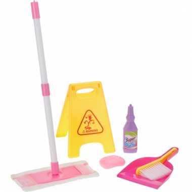 Speelgoed poets set voor meisjes 6 delig