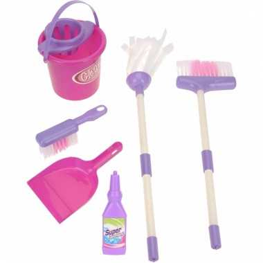 Speelgoed poets set voor meisjes 7 delig