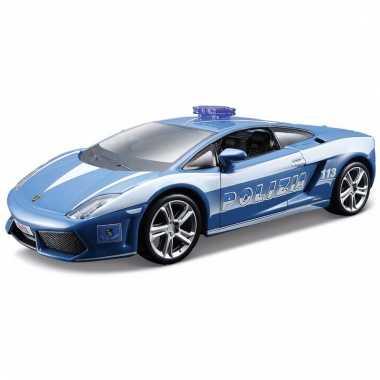 Speelgoed politie auto lamborghini gallardo 1:32