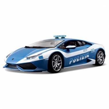 Speelgoed politie auto lamborghini huracan 1:32