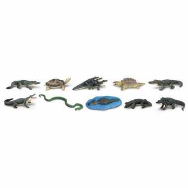 Speelgoed reptielen 12 stuks