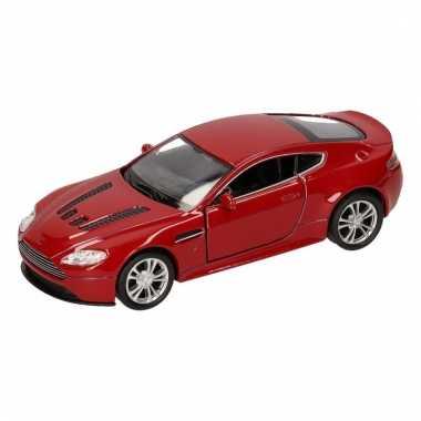 Speelgoed rode aston martin vantage v12 auto 1:36