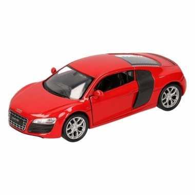 Speelgoed rode audi r8 auto 1:36