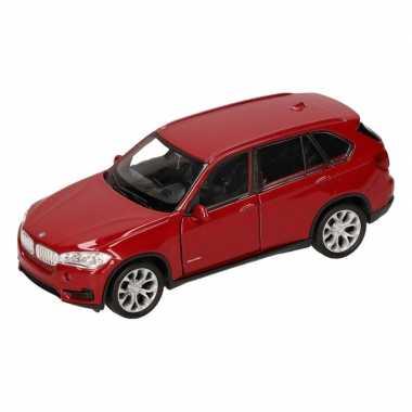 Speelgoed rode bmw x5 auto 1 36