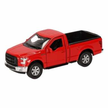 Speelgoed rode ford f-150 auto 12 cm