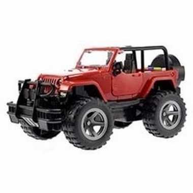 Speelgoed rode jeep wrangler auto 27,5 cm