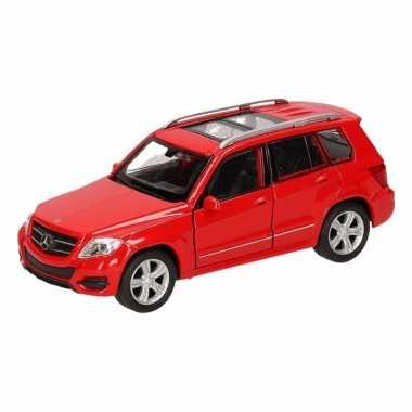Speelgoed rode mercedes-benz glk auto 12 cm