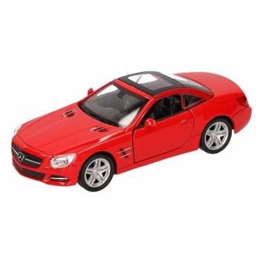 Speelgoed rode mercedes-benz sl500 12 dichte cabrio 1:36