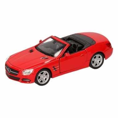 Speelgoed rode mercedes-benz sl500 12 open cabrio 1:36