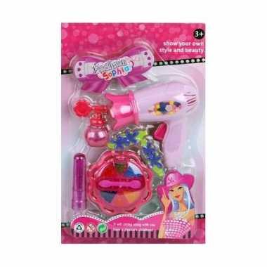 Speelgoed schoonheidsproducten roze voor meisjes