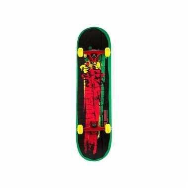 Speelgoed skateboard rood groen