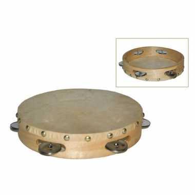 Speelgoed tamboerijn met vel 21 cm