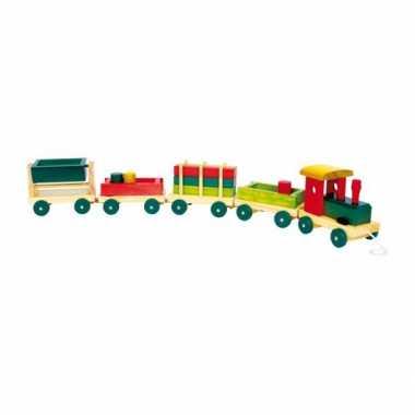 Speelgoed trein van hout 76 cm