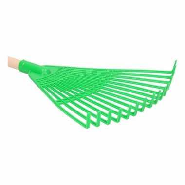 Speelgoed tuingereedschap bladhark