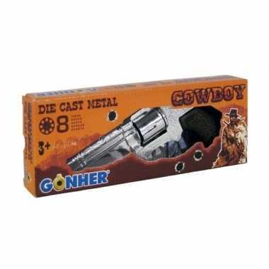 Speelgoed verkleed cowboy plaffertjes pistool 9 schots