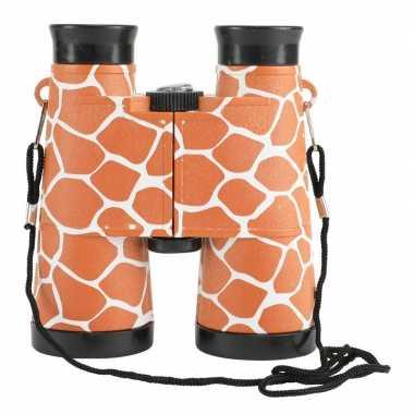 Speelgoed verrekijker voor kinderen giraffe print
