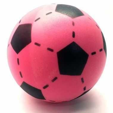 Speelgoed voetbal van foam 20 cm