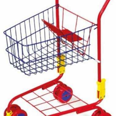 Speelgoed winkelkarretje