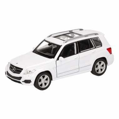Speelgoed witte mercedes-benz glk auto 12 cm