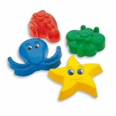 Speelgoed zandvormen 4 delig