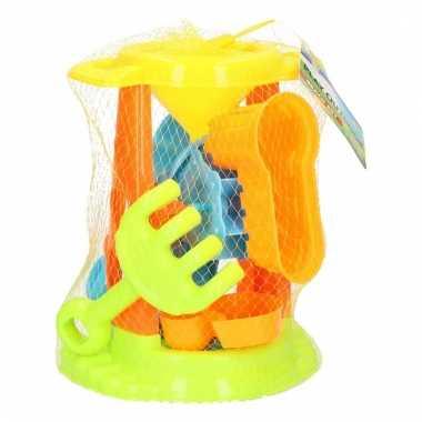 Speelgoed zandvormen setje 5 delig