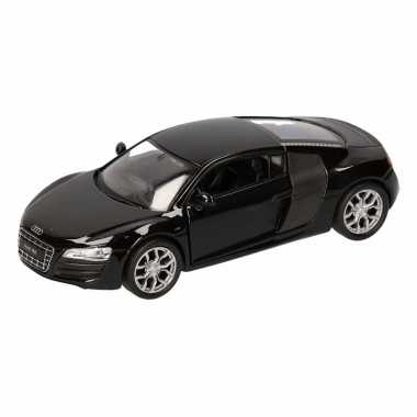 Speelgoed zwarte audi r8 auto 1:36