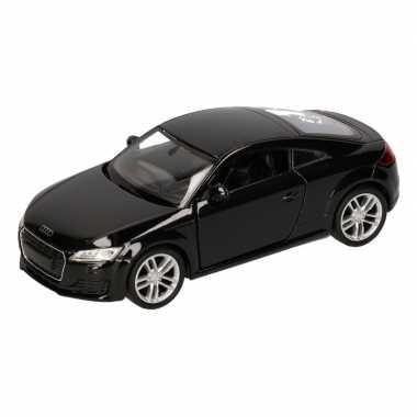 Speelgoed zwarte audi tt 2014 coupe auto 12 cm