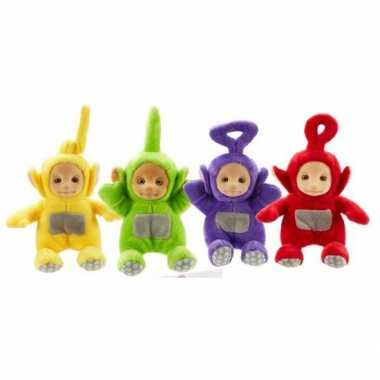 Teletubbies pluche dipsy speelgoed knuffel 18 cm