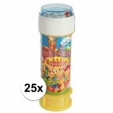 Uitdeelspeelgoed bellenblaas 25 stuks