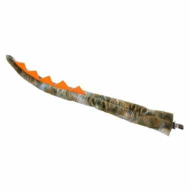 Verkleed/speelgoed dinosaurus staart 68 cm
