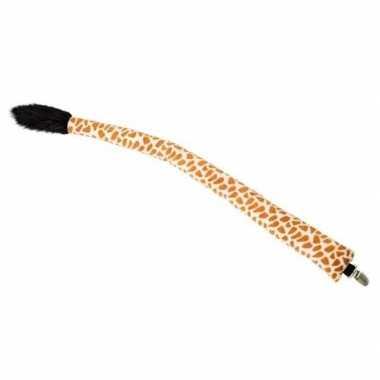 Verkleed/speelgoed giraffen staart 68 cm