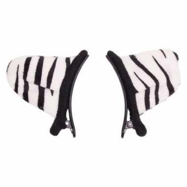 Verkleed speelgoed tijger wit dieren oortjes clip voor kinderen