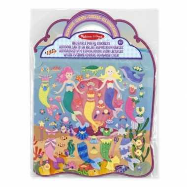 Zeemeermin speelgoed stickerboek