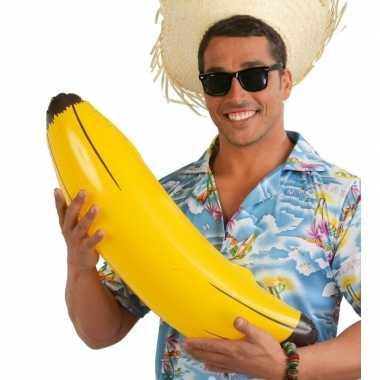 Zwembad speelgoed opblaas banaan 70 cm