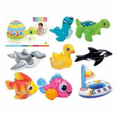 Zwembad speelgoed tropische vis 20 cm