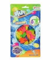 100x gekleurde waterballonnen speelgoed 10151055