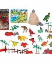 12x plastic dinosaurus dieren speelgoed figuren voor kinderen