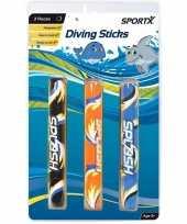 3x duikstokjes duikspeelgoed